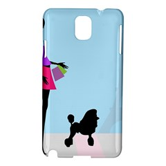 Woman Girl Lady Female Young Samsung Galaxy Note 3 N9005 Hardshell Case by Nexatart