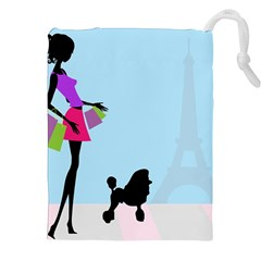 Woman Girl Lady Female Young Drawstring Pouches (xxl)