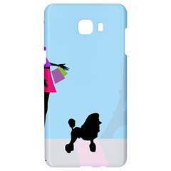 Woman Girl Lady Female Young Samsung C9 Pro Hardshell Case  by Nexatart