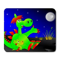 Dragon Grisu Mythical Creatures Large Mousepads
