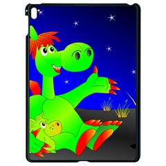 Dragon Grisu Mythical Creatures Apple Ipad Pro 9 7   Black Seamless Case by Nexatart