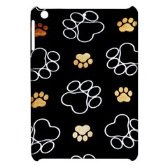 Dog Pawprint Tracks Background Pet Apple Ipad Mini Hardshell Case