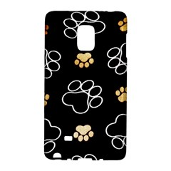 Dog Pawprint Tracks Background Pet Galaxy Note Edge