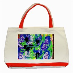 Lilac 3 Classic Tote Bag (red) by bestdesignintheworld