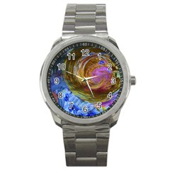 June Gloom 2 Sport Metal Watch by bestdesignintheworld