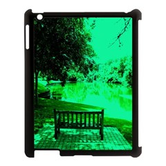 Hot Day In Dallas 24 Apple Ipad 3/4 Case (black) by bestdesignintheworld