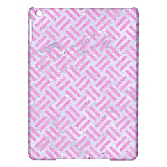 Woven2 White Marble & Pink Colored Pencil (r) Ipad Air Hardshell Cases by trendistuff