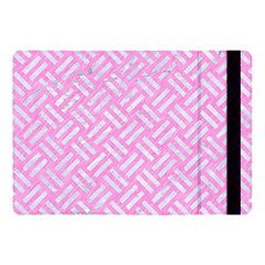 Woven2 White Marble & Pink Colored Pencil Apple Ipad Pro 10 5   Flip Case by trendistuff