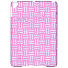 Woven1 White Marble & Pink Colored Pencil Apple Ipad Pro 9 7   Hardshell Case by trendistuff