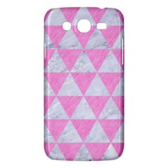 Triangle3 White Marble & Pink Colored Pencil Samsung Galaxy Mega 5 8 I9152 Hardshell Case