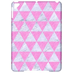 Triangle3 White Marble & Pink Colored Pencil Apple Ipad Pro 9 7   Hardshell Case by trendistuff