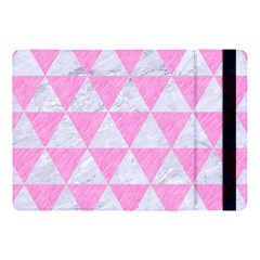 Triangle3 White Marble & Pink Colored Pencil Apple Ipad Pro 10 5   Flip Case by trendistuff