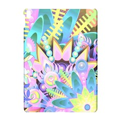 Floral Pattern Tropical Hawaiian Retro  Apple Ipad Pro 10 5   Hardshell Case by CrypticFragmentsColors