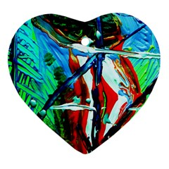 Depression 4 Heart Ornament (two Sides) by bestdesignintheworld