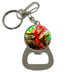 Flamingo   Child Of Dawn 4 Bottle Opener Key Chains by bestdesignintheworld
