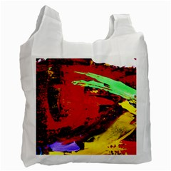 Balboa   Island On A Sand 19 Recycle Bag (one Side) by bestdesignintheworld
