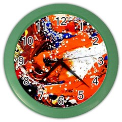 Smashed Butterfly 2 Color Wall Clocks by bestdesignintheworld
