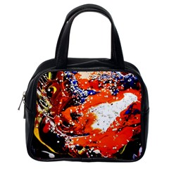 Smashed Butterfly 2 Classic Handbags (one Side) by bestdesignintheworld