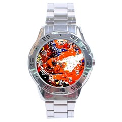 Smashed Butterfly 2 Stainless Steel Analogue Watch by bestdesignintheworld