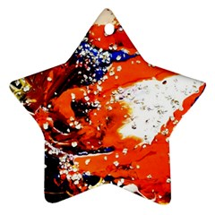 Smashed Butterfly 2 Star Ornament (two Sides) by bestdesignintheworld