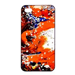 Smashed Butterfly 2 Apple Iphone 4/4s Seamless Case (black) by bestdesignintheworld