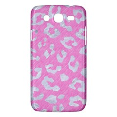 Skin5 White Marble & Pink Colored Pencil (r) Samsung Galaxy Mega 5 8 I9152 Hardshell Case  by trendistuff