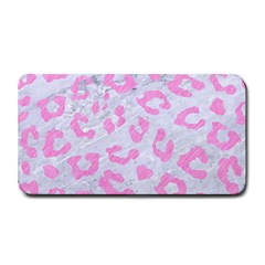 Skin5 White Marble & Pink Colored Pencil Medium Bar Mats by trendistuff
