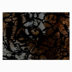 Earth Texture Tiger Shades Large Glasses Cloth