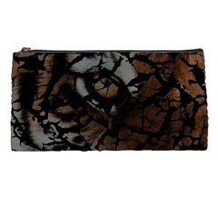Earth Texture Tiger Shades Pencil Cases by LoolyElzayat