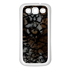 Earth Texture Tiger Shades Samsung Galaxy S3 Back Case (white)