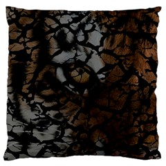 Earth Texture Tiger Shades Standard Flano Cushion Case (one Side)