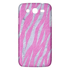 Skin3 White Marble & Pink Colored Pencil Samsung Galaxy Mega 5 8 I9152 Hardshell Case  by trendistuff