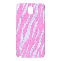 Skin3 White Marble & Pink Colored Pencil Samsung Galaxy Note 3 N9005 Hardshell Back Case by trendistuff