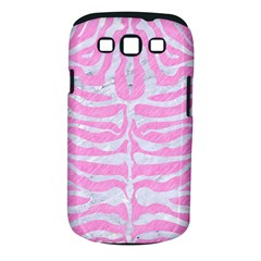Skin2 White Marble & Pink Colored Pencil Samsung Galaxy S Iii Classic Hardshell Case (pc+silicone) by trendistuff