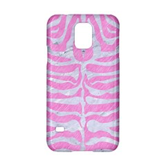 Skin2 White Marble & Pink Colored Pencil Samsung Galaxy S5 Hardshell Case  by trendistuff