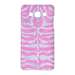Skin2 White Marble & Pink Colored Pencil Samsung Galaxy A5 Hardshell Case  by trendistuff