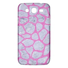 Skin1 White Marble & Pink Colored Pencil Samsung Galaxy Mega 5 8 I9152 Hardshell Case  by trendistuff
