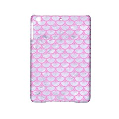 Scales3 White Marble & Pink Colored Pencil (r) Ipad Mini 2 Hardshell Cases by trendistuff