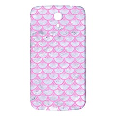 Scales3 White Marble & Pink Colored Pencil (r) Samsung Galaxy Mega I9200 Hardshell Back Case by trendistuff