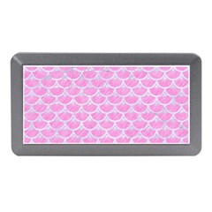Scales3 White Marble & Pink Colored Pencil Memory Card Reader (mini)