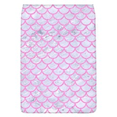 Scales1 White Marble & Pink Colored Pencil (r) Flap Covers (l)  by trendistuff
