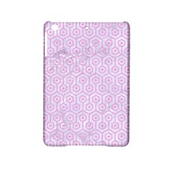 Hexagon1 White Marble & Pink Colored Pencil (r) Ipad Mini 2 Hardshell Cases by trendistuff