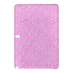 Hexagon1 White Marble & Pink Colored Pencil Samsung Galaxy Tab Pro 10 1 Hardshell Case by trendistuff