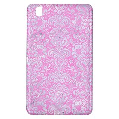 Damask2 White Marble & Pink Colored Pencil Samsung Galaxy Tab Pro 8 4 Hardshell Case by trendistuff