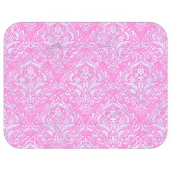 Damask1 White Marble & Pink Colored Pencil Full Print Lunch Bag