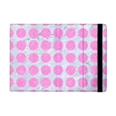Circles1 White Marble & Pink Colored Pencil (r) Ipad Mini 2 Flip Cases by trendistuff