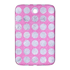 Circles1 White Marble & Pink Colored Pencil Samsung Galaxy Note 8 0 N5100 Hardshell Case  by trendistuff