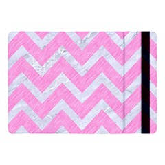 Chevron9 White Marble & Pink Colored Pencil Apple Ipad Pro 10 5   Flip Case by trendistuff