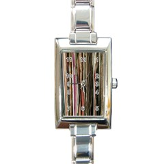 Old Singles Rectangle Italian Charm Watch by DeneWestUK