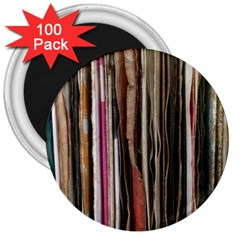 Old Singles 3  Magnets (100 Pack) by DeneWestUK